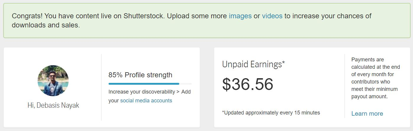 Make Money with Stock Photography - Shutterstock