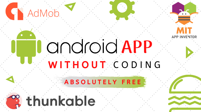 How to create an android app without coding for free