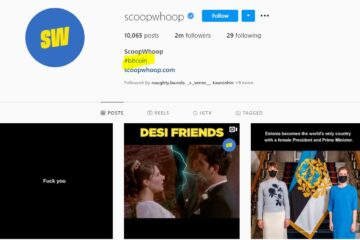 ScoopWhoop's Social Media Account Hacked